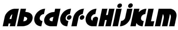 Neuralnomicon Italic Font LOWERCASE