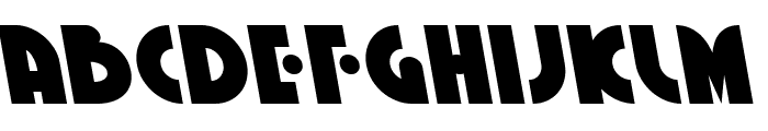 Neuralnomicon Leftalic Font UPPERCASE