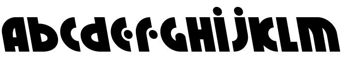 Neuralnomicon Leftalic Font LOWERCASE