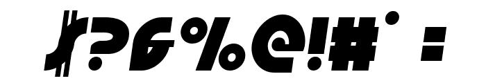 Neuralnomicon Semi-Italic Font OTHER CHARS
