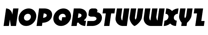 Neuralnomicon Semi-Italic Font UPPERCASE