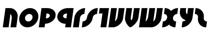 Neuralnomicon Semi-Italic Font LOWERCASE