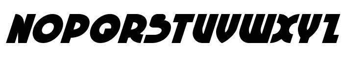 Neuralnomicon Super-Italic Font UPPERCASE