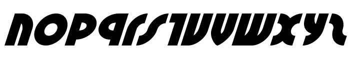 Neuralnomicon Super-Italic Font LOWERCASE