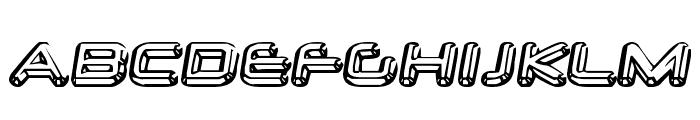 Neurochrome-Regular Font UPPERCASE