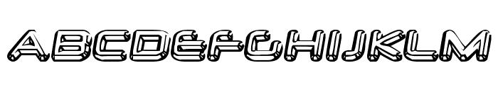 Neurochrome Font UPPERCASE