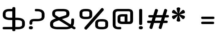 Neuropol X Free Font OTHER CHARS