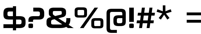 NeuropoliticalRg-Regular Font OTHER CHARS