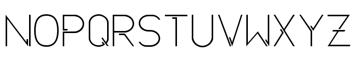 NeuroticaSans Font UPPERCASE