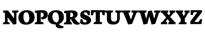 Neuton Extrabold Font UPPERCASE