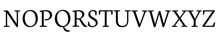 Neuton Light Font UPPERCASE