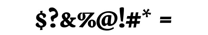 Neuton SC Bold Font OTHER CHARS