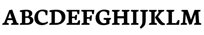 Neuton SC Bold Font UPPERCASE