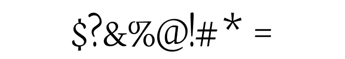Neuton SC Extralight Font OTHER CHARS
