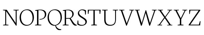 Neuton SC Extralight Font UPPERCASE
