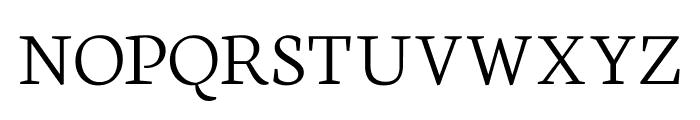 Neuton SC Extralight Font LOWERCASE