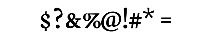 Neuton SC Regular Font OTHER CHARS