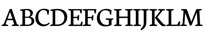 Neuton SC Regular Font UPPERCASE