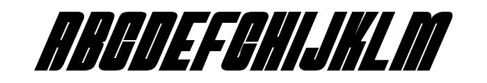 NeutronBomb Font UPPERCASE