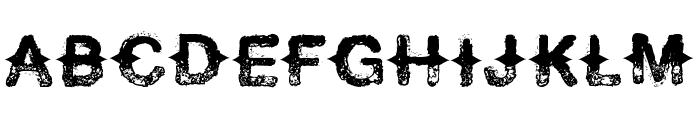 Never Speak Of Font UPPERCASE