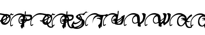Neverwinter Bold Italic Font UPPERCASE
