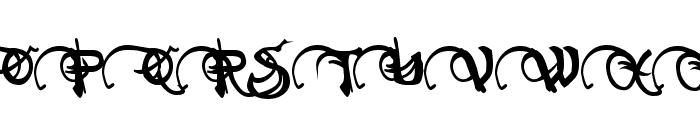 Neverwinter Bold Font UPPERCASE