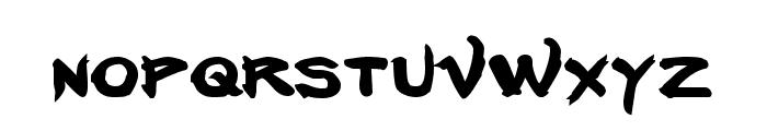 Neverwinter Bold Font LOWERCASE