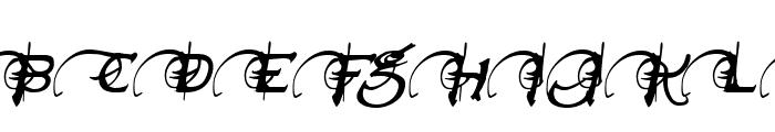 Neverwinter Italic Font UPPERCASE