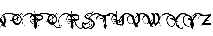 Neverwinter Normal Font UPPERCASE
