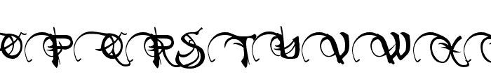 Neverwinter Font UPPERCASE