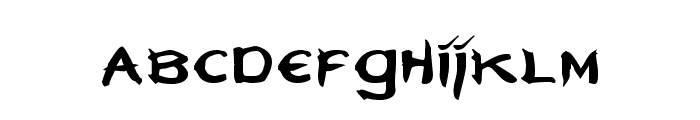 Neverwinter Font LOWERCASE