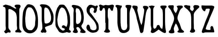 Nevins Hand Font UPPERCASE