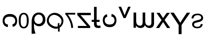 New Alay Generation Font LOWERCASE