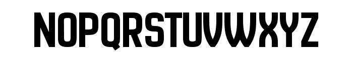 New Amsterdam Regular Font UPPERCASE
