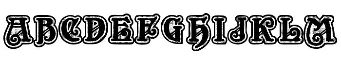 New Art Deco Font UPPERCASE