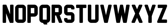 New Athletic M54 Font LOWERCASE