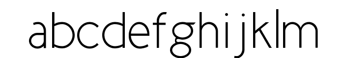 New Cicle Fina Font LOWERCASE