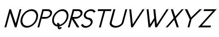 New Cicle Gordita Italic Font UPPERCASE