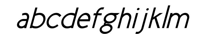 New Cicle Gordita Italic Font LOWERCASE
