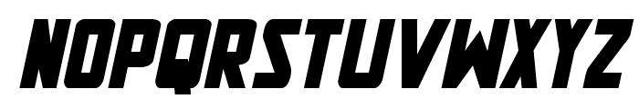 New Comic Title Bold Italic Font UPPERCASE