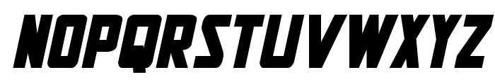 New Comic Title Bold Italic Font LOWERCASE