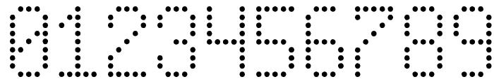 New Led Board tfb Font OTHER CHARS