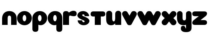 New LiteBulb Font LOWERCASE