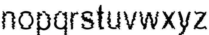 New Mozak Font LOWERCASE