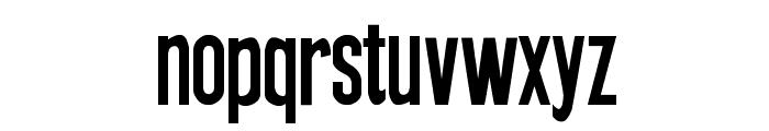 New Press Font LOWERCASE