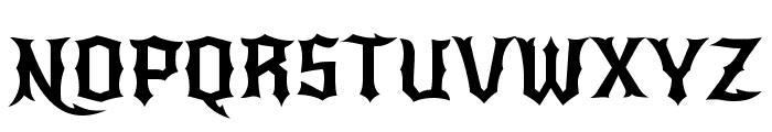 New Rocker Font UPPERCASE