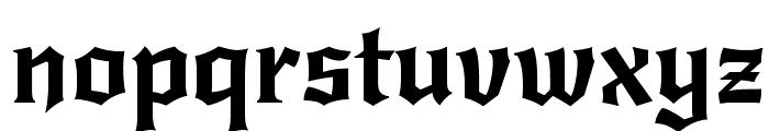New Rocker Font LOWERCASE