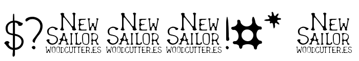 New Sailor Font OTHER CHARS