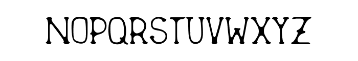 New Sailor Font LOWERCASE