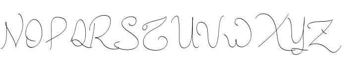 New Spirit Font UPPERCASE